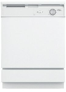 Whirlpool Durawash 5-Cycle 1-Option Dishwasher WDU810SWP