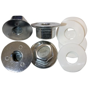 Jones Stephens 4-Pack Carrier Nut & Washer Set JC56100