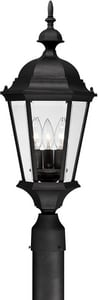 Capital Lighting Fixture Carriage House 24 in. 60 W 3-Light Candelabra Lantern C9725