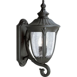 Progress Lighting Meridian 19-3/4 in. 60W 2-Light Wall Lantern PP5823