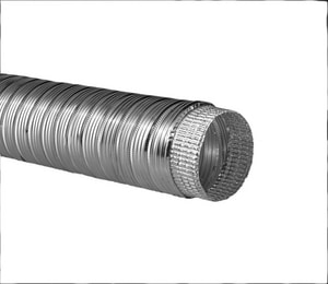Hart & Cooley 4 in. x 10 ft. Aluminum Compressed Flexible Air Duct HF040CPP10