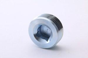 Billco Threaded Steel Square Countersunk Galvanized Malleable Plug GSSCP