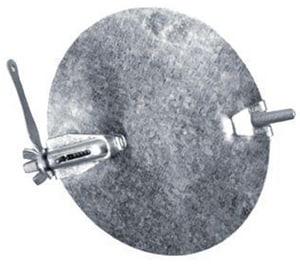Northwest Metal Products 28 ga Galvanized Round Damper N32306