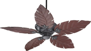 Quorum International Monaco 52 in. 5-Blade Ceiling Fan in Toasted Sienna Q135525