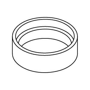 Kohler Escutcheon for Kohler K-454-4S Widespread Lavatory Faucet K1035359