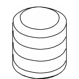 Kohler Screw Allen Din for Kohler K14443, K14458, K14444, K14459, K14441, and K14451 K1017949