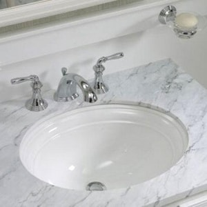 Kohler Devonshire NoHole Undermount Lavatory Ferguson - Kohler devonshire bathroom collection