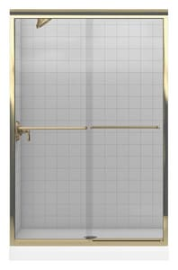 Kohler Fluence® 70-5/16 x 47-5/8 in. Frameless Sliding Shower Door K702208-L