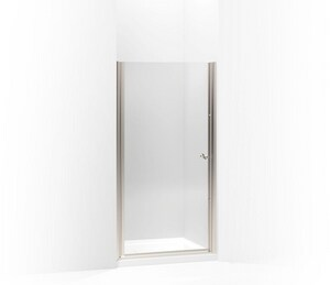Kohler Fluence® 65-1/2 x 36-1/2 in. Frameless Pivot Shower Door K702410-L