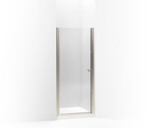 Kohler Fluence® 65-1/2 x 31-1/2 in. Frameless Pivot Shower Door K702402-L