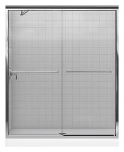 Kohler Fluence® 70-5/16 x 59-5/8 in. Frameless Sliding Shower Door K702206-L