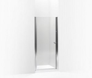 Kohler Fluence® 65-1/2 x 34 in. Frameless Pivot Shower Door K702406-L