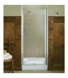 Kohler Fluence® 65-1/2 x 31-1/2 in. Frameless Pivot Shower Door K702402-L