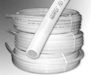 White PEX Tubing
