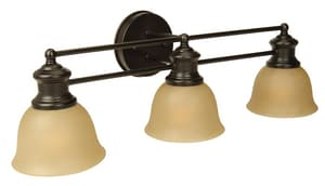Craftmade International Light Rail 100W 3-Light Bath Vanity Fixture C198223