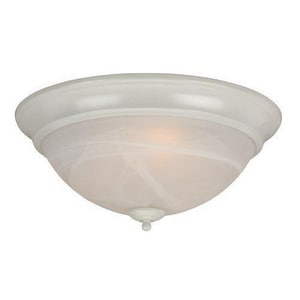 Craftmade International 5-1/2 x 15 in. 60 W 3-Light Medium Flush Mount Ceiling Fixture CX215