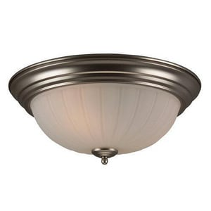 Craftmade International 6 in. 60 W 3-Light Medium Flush Mount Ceiling Fixture CX115