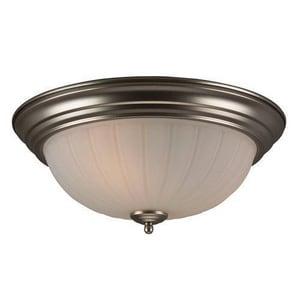 Craftmade International 6 in. 60 W 3-Light Medium Flush Mount Ceiling Fixture CX115