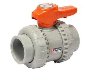 2 in. CPVC Socket Union Standard Ball Valve with EPDM Seat S3629020C