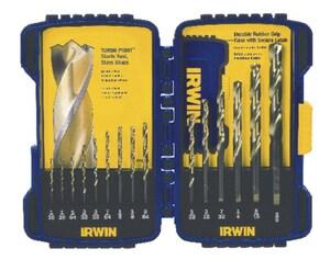 Irwin Industrial Tool Turbomax® 15-Piece Drill Bit Set I318015