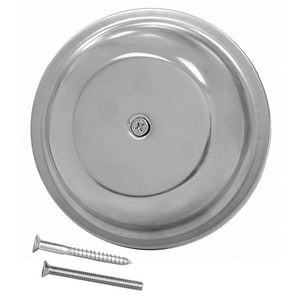 Jones Stephens 6 in. 24 ga Dome Cover Plate with Screw JC98016