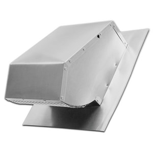Lambro Industries Roof Cap With Damper & Screen LAM116