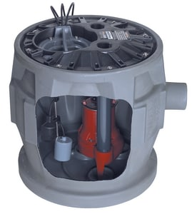 Liberty Pumps 115V Sewage Ejector System For P380 LP382LE41
