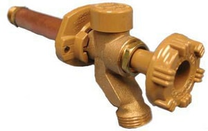 Woodford Manufacturing Freezeless Wall Faucet with Metal Handle W17CMH