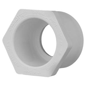 FlowGuard Gold® 1 x 3/4 in. Spigot x Socket Reducing Schedule 40 PVC Bushing P40SBGF at Pollardwater