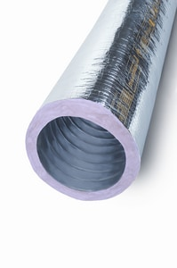 Flexible Technologies 25 ft. R6 Insulation Flexible Air Duct Foil FMKC25