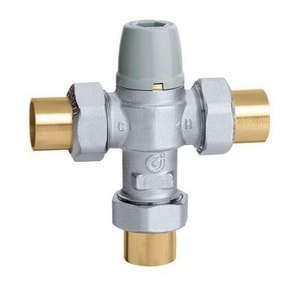 Caleffi 3 in. 3/4 in. Thermostatic Mixing Valve Union-Sweat C521359A
