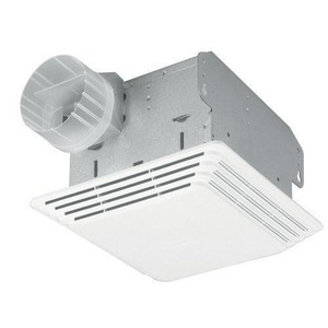 Broan Nutone White Brass Ceiling Exhaust Mount Fan B684