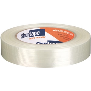 Shurtape GS 501 1 in. Filament Tape in White SGS501G60WH
