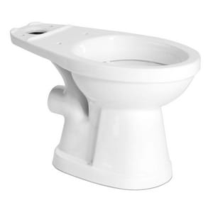 SFA Saniflo USA Saniflush® 1.6 gpf Elongated Toilet in White SAN007