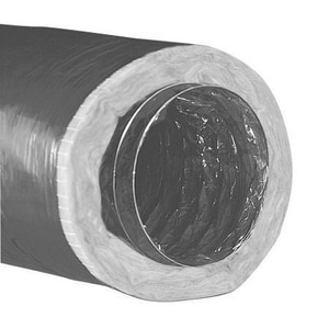 Hart & Cooley 50 ft. Vinyl Flexible Air Duct in Black HF11650