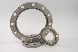 Ferguson Industrial Plastics Slip-On 150# 128 psi Stainless Steel Long Turn Weight Back-Up Ring ISS316SDR135