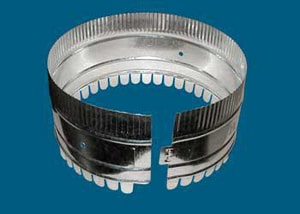M & M Manufacturing Flexible Duct Coupling MMPFDCST