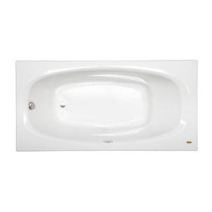 Jacuzzi Amiga® 72 x 36 in. 8-Jet Acrylic Oval in Rectangle Drop-In or Skirted Air Bathtub with Left Drain and J2 Basic Control JAMI7236ALR2XX