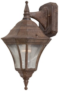 Minka Segovia™ 8-1/2 in. 100 W 1-Light Medium Lantern in Vintage Rust M820261