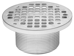 Oatey 5 in. Round Grate, Ring and Barrel O72060