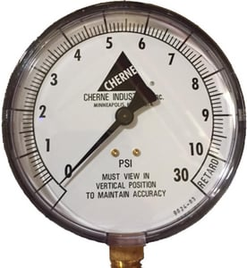 Cherne Non-Panel Mounted Pressure Test Gauge C055058