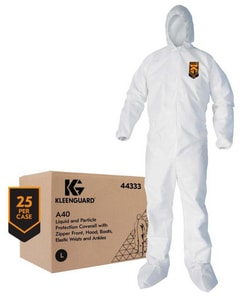 Kimberly Clark Kleenguard® Coverall with Hood & Boots Large K44333