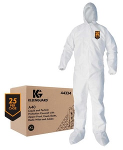 Kimberly Clark Kleenguard® Coverall with Hood and  Boots Kleenguard K44334