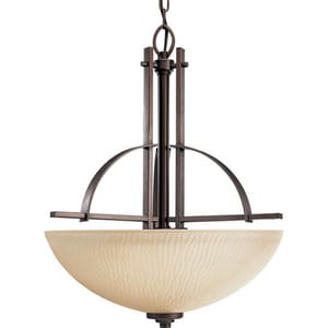 Progress Lighting Riverside 98 in. 100W 3-Light Foyer Pendant PP351988