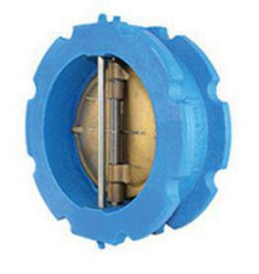 Titan Flow Control 150# Ductile Iron Flanged Dual Disc Wafer Check Valve TCV41DBB
