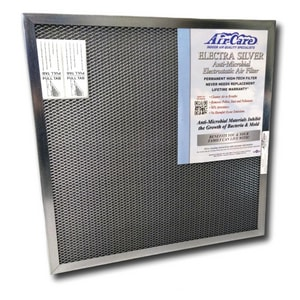 Air Care Silver 94 14 x 20 x 1 in.  Electra Silver 94% Air Filter AES94141