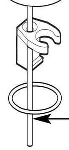 Moen Icon™ Widespread Lift Rod Kit M123804