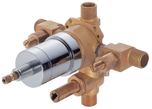 Danze Tub And Shower Pressure Balance Valve With Diverter Side Discharge Stop DD113000BT