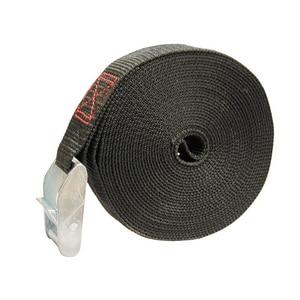 Jones Stephens 1 x 2 in. Cam Strap Black JS20100