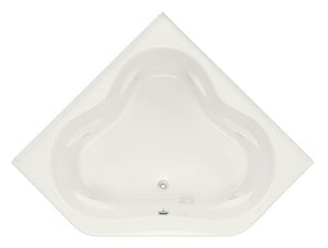 Kohler Tercet® 60 x 60 in. Bathtub with Center Drain in White K1160-FH-0